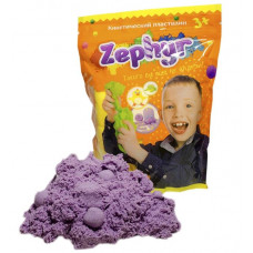 Zephyr Кинетический пластилин цвет фиолетовый, 00-00000808