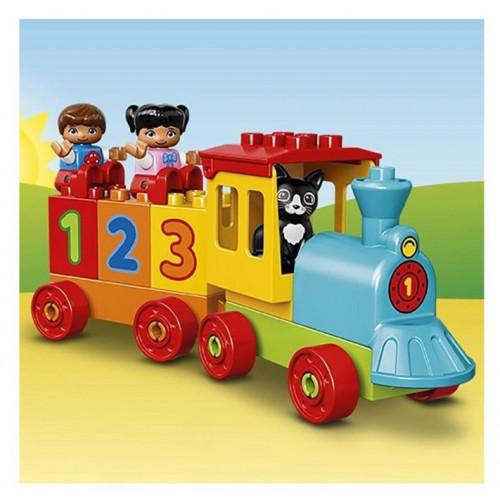 """Конструктор LEGO DUPLO Поезд """"Считай и играй"""" 10847"""