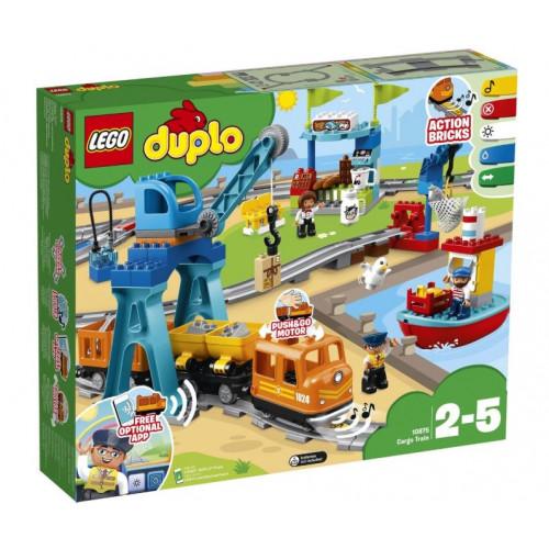 Конструктор LEGO DUPLO Грузовой поезд 10875