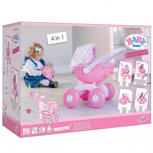 Коляска 4 в 1 для куклы Baby born высотой 32 см 1423576