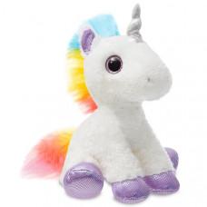 Мягкая игрушка Aurora Единорог, фиолетовый, 30 см 161257A