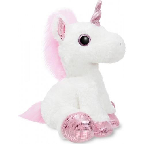 Мягкая игрушка Aurora Единорог, розовый, 30 см 161257F