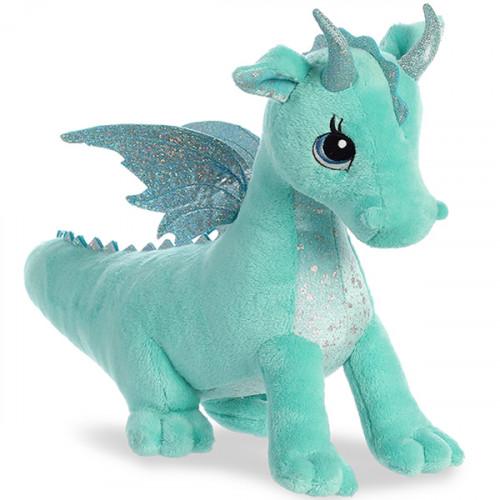 Мягкая игрушка Aurora Дракон, мятный, 30 см 170619B