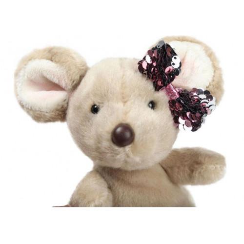 Мягкая игрушка Aurora Мышка, 190063B, 18 см