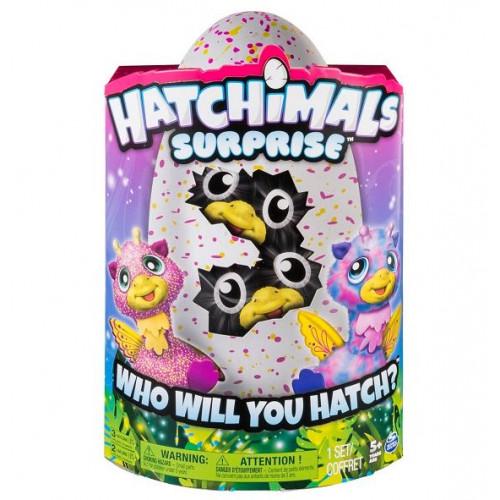 Игрушка Hatchimals Хетчималс сюрприз - близнецы интерактивные питомцы, вылупляющиеся из яйца, 19110-PINK