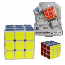 "1toy Головоломка ""Куб 3х3"" 2 размера в наборе 5,5см и 3см, блистер 16Х17,5см"