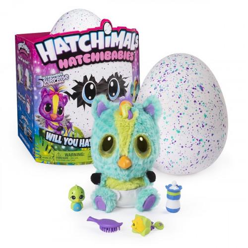 Игрушка Hatchimals Хетчималс Hatchy-малыш - интерактивный питомец, вылупляющийся из яйца 19133-PON