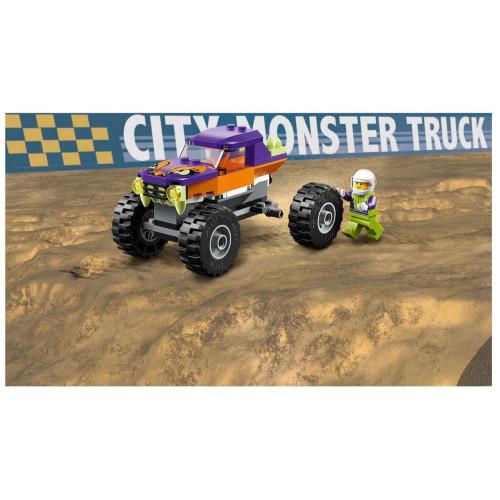 Конструктор Lego City Great Vehicles Монстр-трак 60251