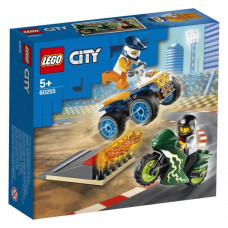Конструктор LEGO City Nitro Wheels Команда каскадеров 60255