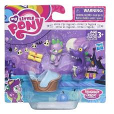 Фигурка My Little Pony Spike the Dragon пони с аксессуарами, B3596_B7820