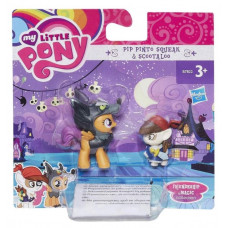 Фигурка My Little Pony Pip Pinto Squeak & Scootaloo пони с аксессуарами, B3596_B7822