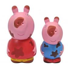 """Набор игрушек для ванной Peppa Pig Свинка Пеппа, """"Грязнуля или Чистюля"""", 30219"""