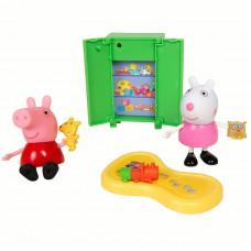 """Игровой набор Peppa Pig – """"Пеппа и Сьюзи играют в игры"""" 5 предметов, свет 35355"""