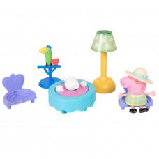 """Игровой набор Peppa Pig – """"Свинка Пеппа и чайная церемония"""" 6 предметов, свет 35357"""