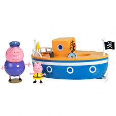 """Игровой набор для ванны Peppa Pig - """"Корабль дедушки Свинки Пеппы"""" 37224"""
