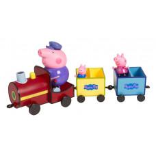 """Свинка Пеппа.Игровой набор. """"Поезд дедушки Пеппы"""", Peppa Pig. 37226"""