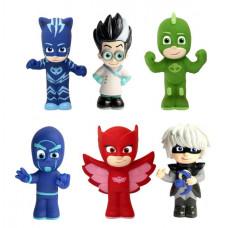 Игровой набор для ванны PJ Masks, Герои в масках, 6 фигурок, 37379