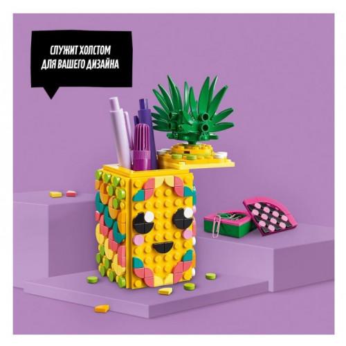 Конструктор LEGO DOTS Подставка для карандашей Ананас 41906