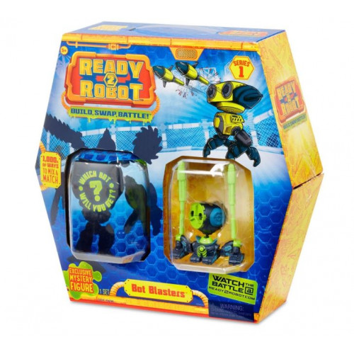 Капсула и минибот Ready2Robot - Bot Blasters MGA Entertainment 553977