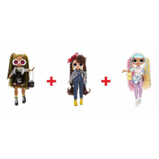 Набор кукол L.O.L. Surprise OMG Alt Grrrl, Busy B.B., Candylicious  559788_2 (2 волна)