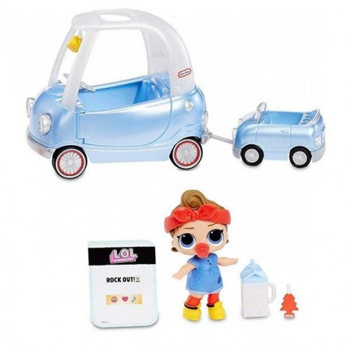 LOL Surprise Игровой набор MGA Entertainment Furniture Road Trip with Can Do Baby, 564928