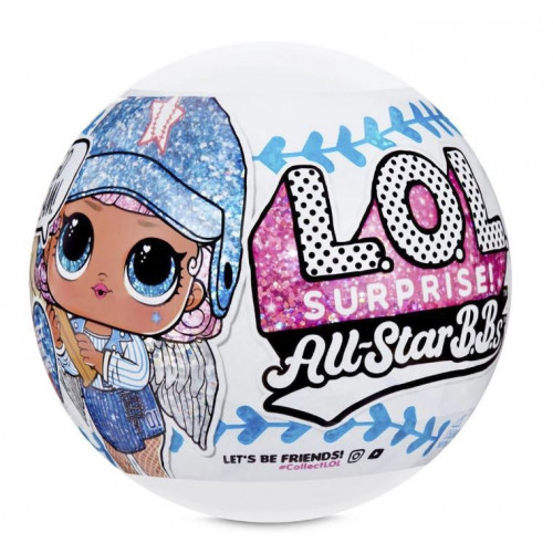 L.O.L. Surprise All-Star B.B.s Sports Series 1 Baseball Sparkly Dolls 570370_1