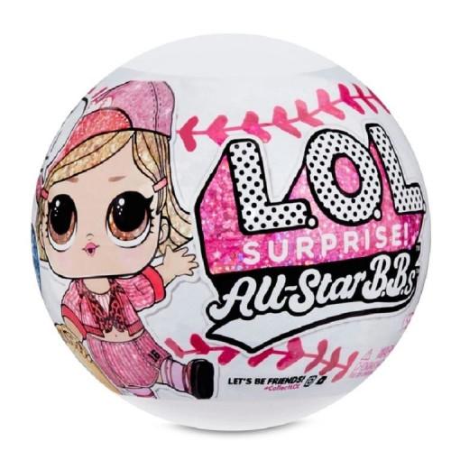 L.O.L. Surprise All-Star B.B.s Sports Series 1 Baseball Sparkly Dolls 570370_2