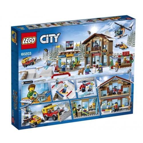 Конструктор LEGO City Town Горнолыжный курорт 60203