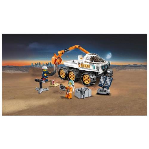 Конструктор LEGO City Space Port Тест-драйв вездехода 60225