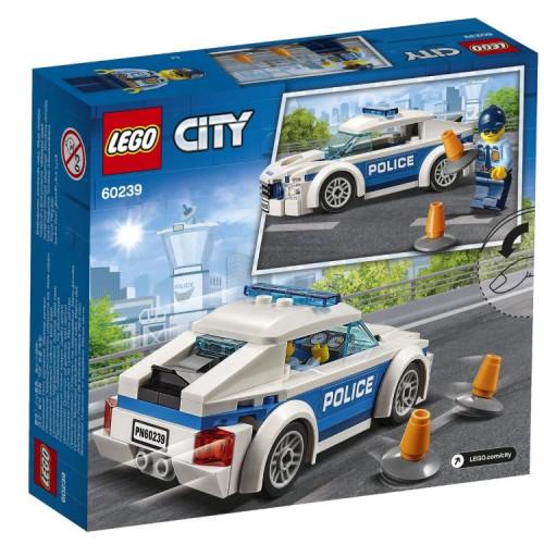 Конструктор LEGO City Police Автомобиль полицейского патруля 60239