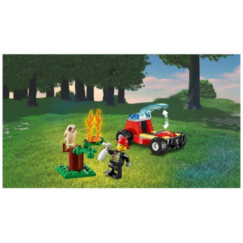 Конструктор LEGO City Fire Лесные пожарные 60247