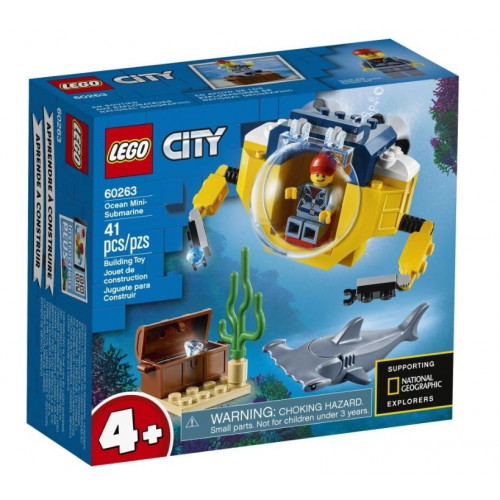 Конструктор LEGO City Oceans Мини-подлодка 60263