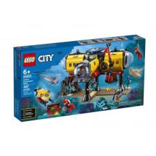 Конструктор LEGO City Oceans Исследовательская подводная лодка 60264