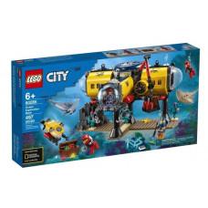 Конструктор LEGO City Oceans Исследовательская база 60265