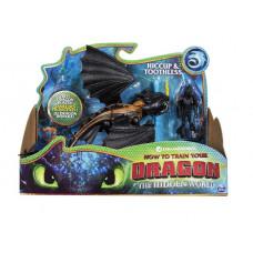Драконы фигурка дракона и викинга (Беззубик и Викинг) 6052275