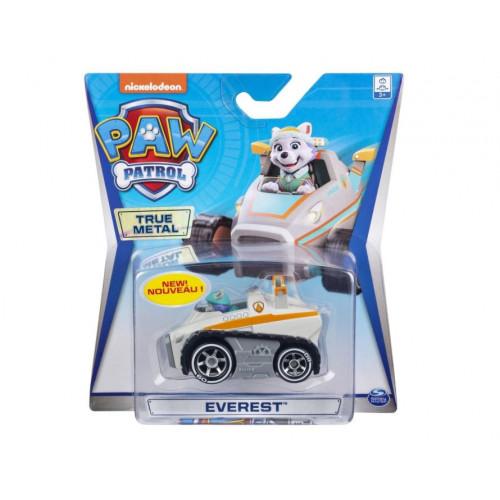 Машинка Щенячий патруль Paw Patrol Тру металл Дайкаст Эверест Snowplow, 6053257_everest