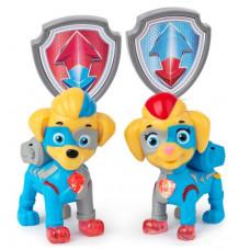 Фигурки Щенячий патруль Paw Patrol Mighty Twins Близнецы 6054565