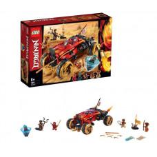 Конструктор LEGO Ninjago Внедорожник Катана 4х4 70675