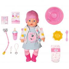 Кукла Интерактивная Zapf Creation Baby born Стильная Весна, 43 см. 826-690