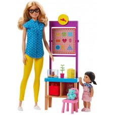 Игровой набор Barbie Барби с куклой Учитель DHB63_FJB29