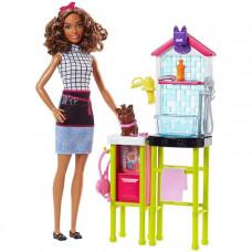 Игровой набор Barbie Барби Грумер из серии Кем быть, DHB63_FJB31