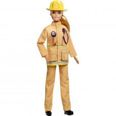 Кукла Barbie к 60летию Кем быть Пожарный, GFX23_GFX29