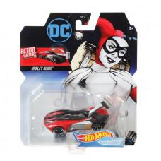 Машинка премиальная Hot Wheels Вселенная DC Харли Квинн, DKJ66_FYV37