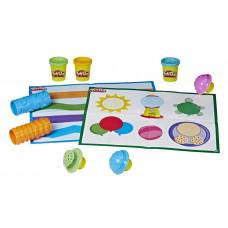 Набор для лепки Play-Doh Academy Текстуры и инструменты, E4916121