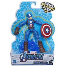 Фигурка Avengers Мстители Бенди Капитан Америка, E7377_7869