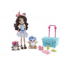 """Enchantimals Игровой набор """"Кукла со зверушкой"""" FCC62"""