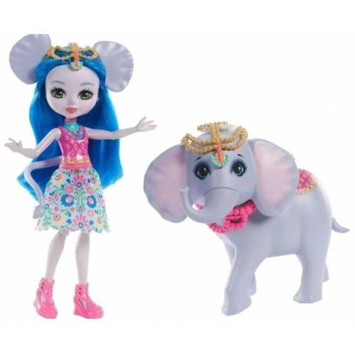 Enchantimals Игровой набор с куклой Ekaterina Elephant & Antic FKY72_FKY73