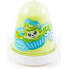 "Слайм KiKi ""Monster's Slime Fluffy"" Зеленый Мята FL012"