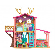 Игровой набор с куклой Enchantimals Домик Данессы Оленни FRH50