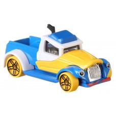 Машинка Hot Wheels Character cars Дисней, Дональд Дак, GCK28_FYV94